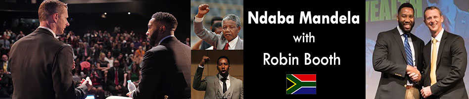 Mandela and Robin Booth 1