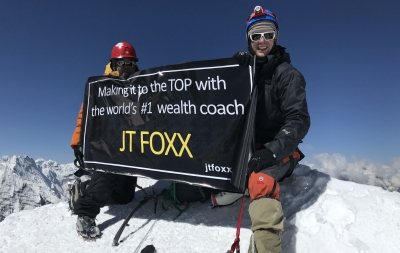 Making it to the top with the world's No. 1 Wealth Coach, JT FOXX