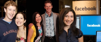 I took the photo in the middle when I met Randi Zuckerberg in the USA in 2013.